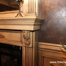 Living Room by Trim Team NJ