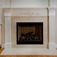 Traditional Living Room by Bill Fry Construction - Wm. H. Fry Const. Co.