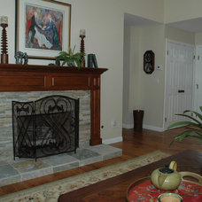Traditional Living Room by Westside Remodeling, Inc.