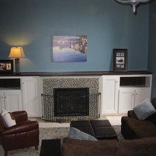 Modern Living Room by Greene Designs LLC