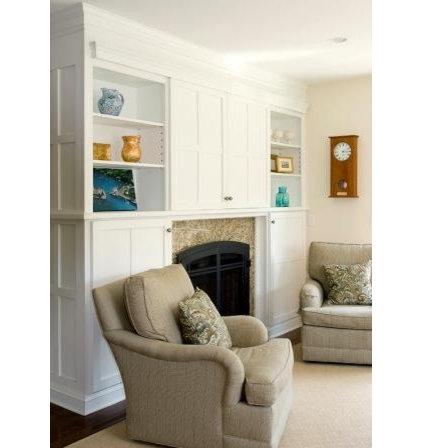 Contemporary Living Room by Celia Bedilia