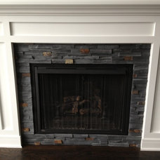 Craftsman Living Room by Classic Tile