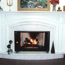 Traditional Living Room by E. V. JAMES CO., INC. MASTER REMODELORS-BUILDERS