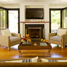 Traditional Living Room by Hammer Architects