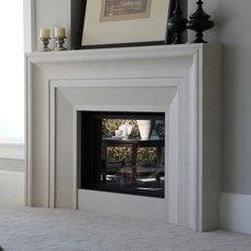 Contemporary Living Room by Lyonstone Designs Inc.