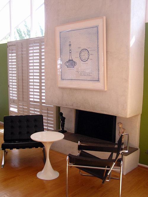 Modern Fireplace Surrounds Photos