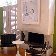 Midcentury Living Room by Lisa Hallett Taylor