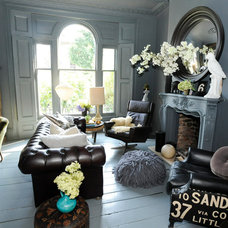 Eclectic Living Room by Beccy Smart Photography