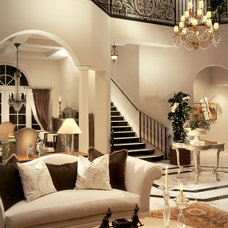 Traditional Living Room by Causa Design Group