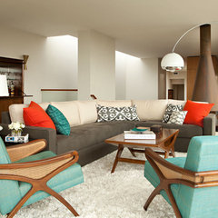 modern living room by Chris Barrett Design