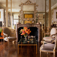 Eclectic Living Room by FISHER WEISMAN