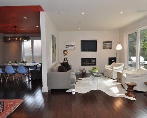 Cowhide Living Room Ideas Photos