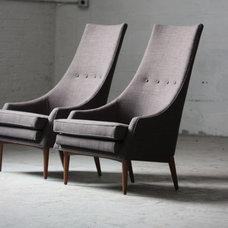 Contemporary Living Room by Fishman Fabrics