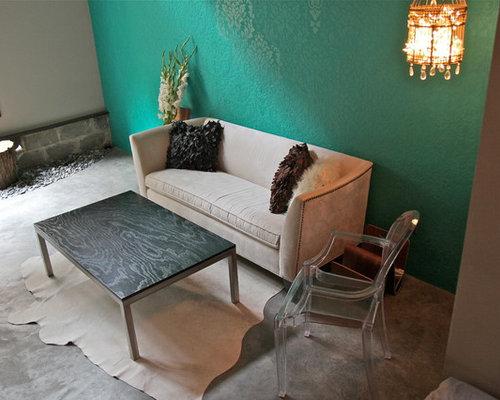 Example Of A Trendy Living Room Design In Philadelphia Part 71