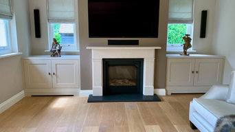 Fitted Alcove Cabinets