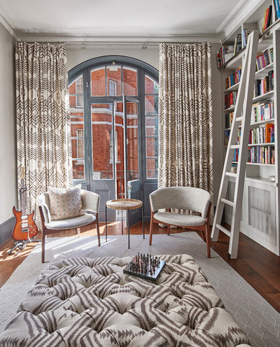 Transitional Living Room by Sigmar