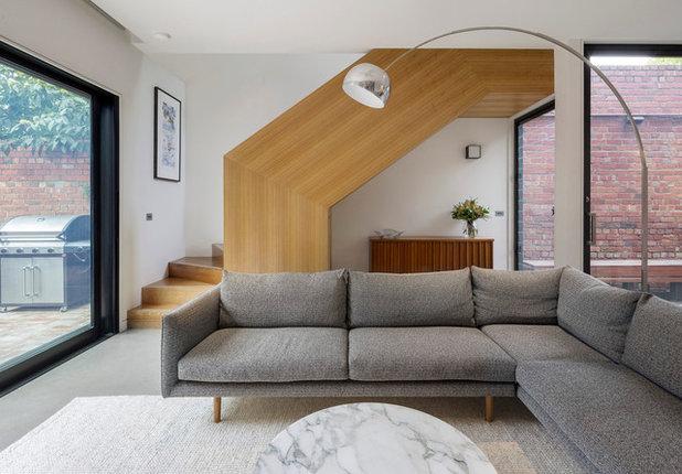 Современный Гостиная by Adam Dettrick Architects