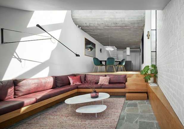 Contemporary Living Room by Taylor Knights