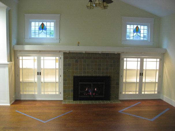 Traditional Living Room by Pella Windows & Doors