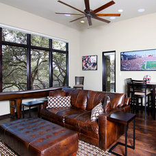 Traditional Living Room by Design Visions of Austin