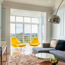 Transitional Living Room by Lee Kimball