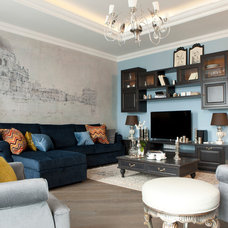 Contemporary Living Room by S-style