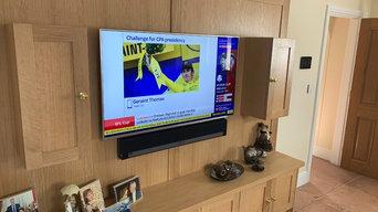 Flat Screen TV Hanging