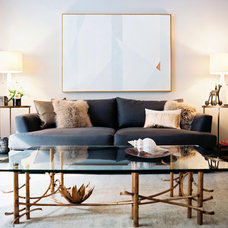 Eclectic Living Room by Scout Designs