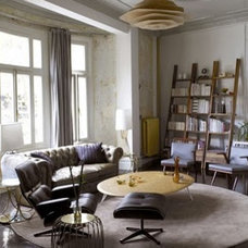 Eclectic Living Room by Flax-Design