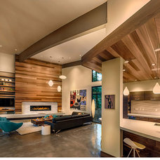 Modern Living Room by Sage Architecture, Inc.
