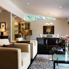 contemporary living room Flipping Out / Jeff Lewis Design