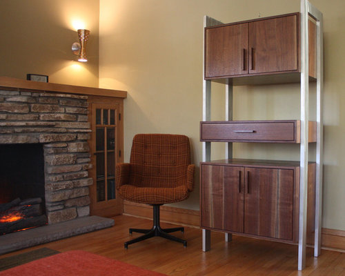 Walnut Hutch Home Design Ideas, Pictures, Remodel and Decor