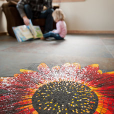 Living Room by Sine Verba Mosaics