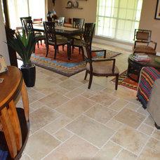 Mediterranean Living Room by depotgranite