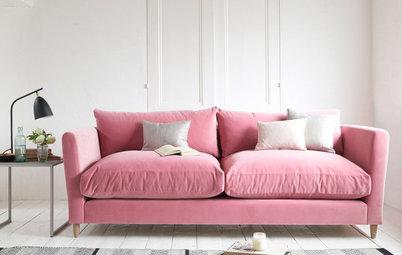 7 razones (de peso) para tener un sofá de terciopelo en casa