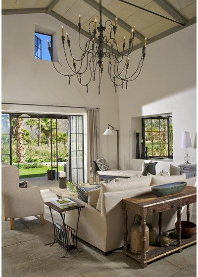 Farmhouse Living Room by Dorman Associates, Inc.