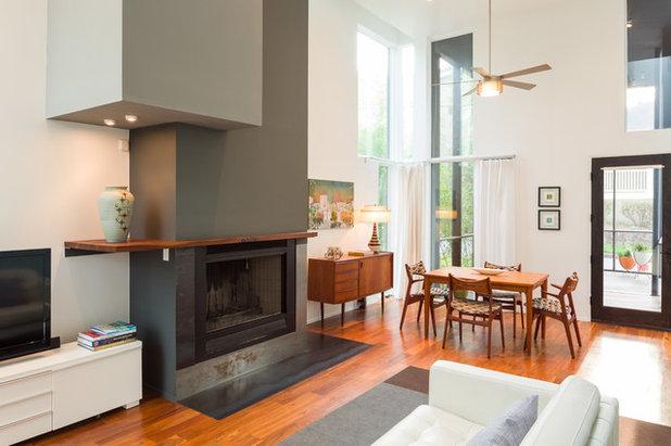 Contemporain Salon Florian Hart Residence