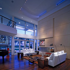 modern living room by Mojo Stumer Associates, pc.