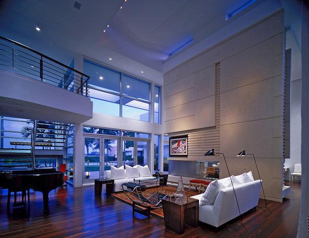 Modern Living Room by Mojo Stumer Associates, pc.