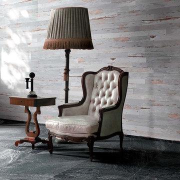 Florim USA Charleston Gray Wood Look Porcelain Flooring Tile