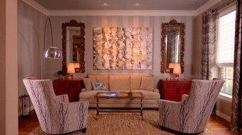 Flower Mound Formal Dining and Formal Living Design