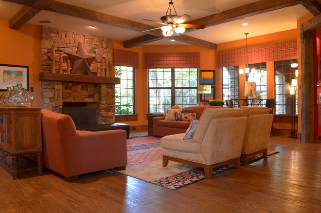 My Houzz A Texas Home Goes Big For The Kids