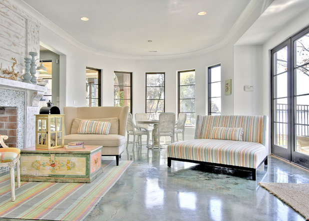 concrete floors in home. Traditional Porch by Artisan Custom Homes 5 Benefits to Concrete Floors for Everyday Living