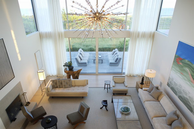 Modern Living Room by Stelle Lomont Rouhani Architects