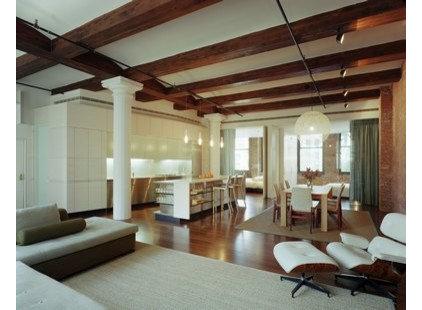Modern Living Room by Fogarty Finger
