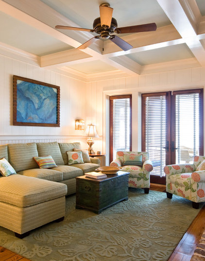 Traditional Living Room by J. Rhodes Interior Design, Inc.