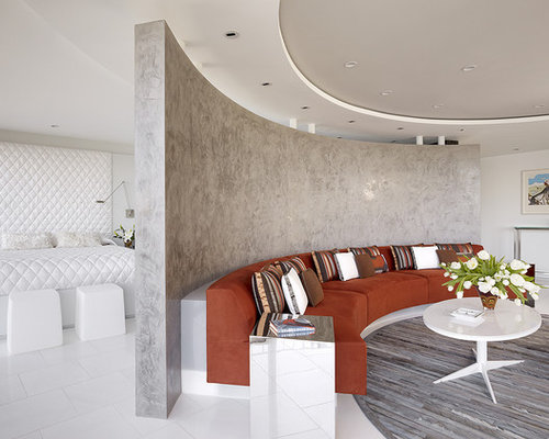 Curved wall design ideas remodel pictures houzz for Curved wall