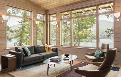 Room of the Day: A Living Room Bows to the Great Smoky Mountains