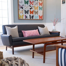 Transitional Living Room by LemonTree & Co. Interiors
