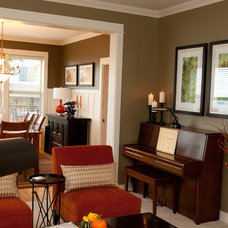 Traditional Living Room by Amy Troute Inspired Interior Design